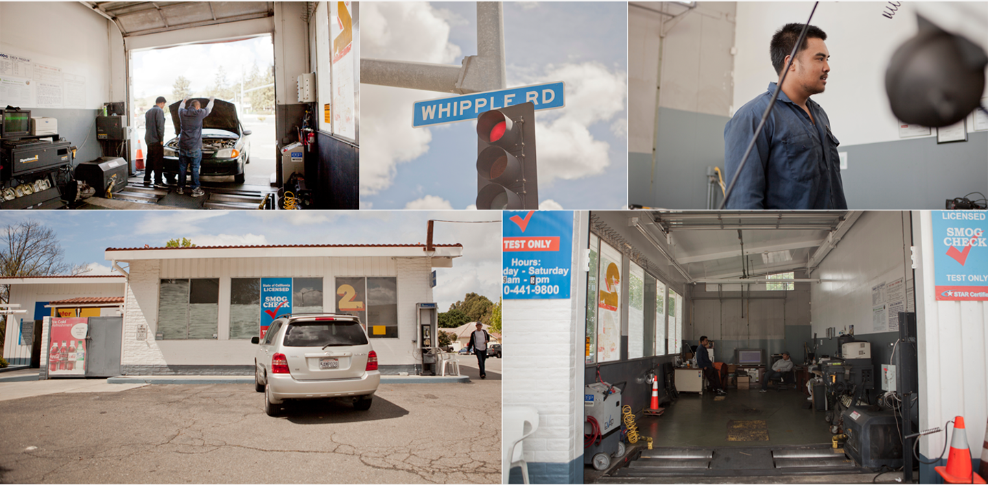 Union city smog check collage large